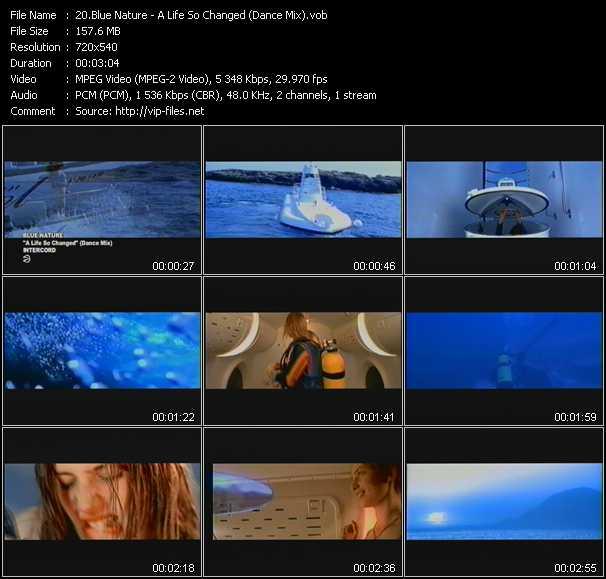 Blue Nature video screenshot