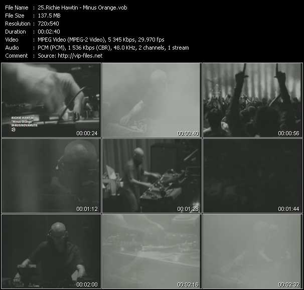Richie Hawtin video screenshot