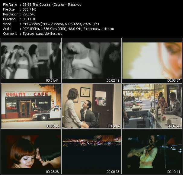 Tina Cousins - Cassius - Sting video screenshot