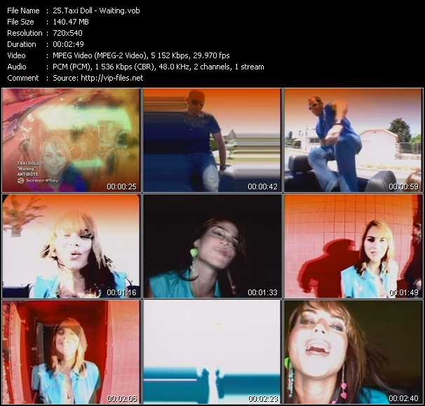 Taxi Doll video screenshot