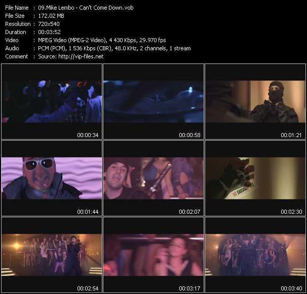 Mike Lembo video screenshot