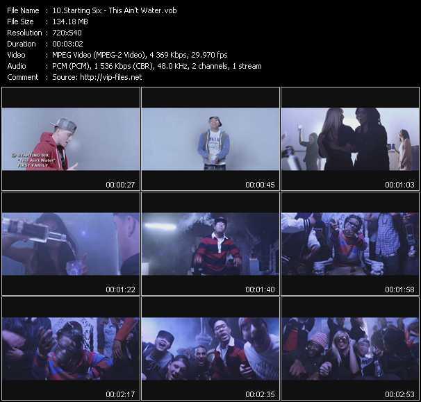Starting Six video screenshot