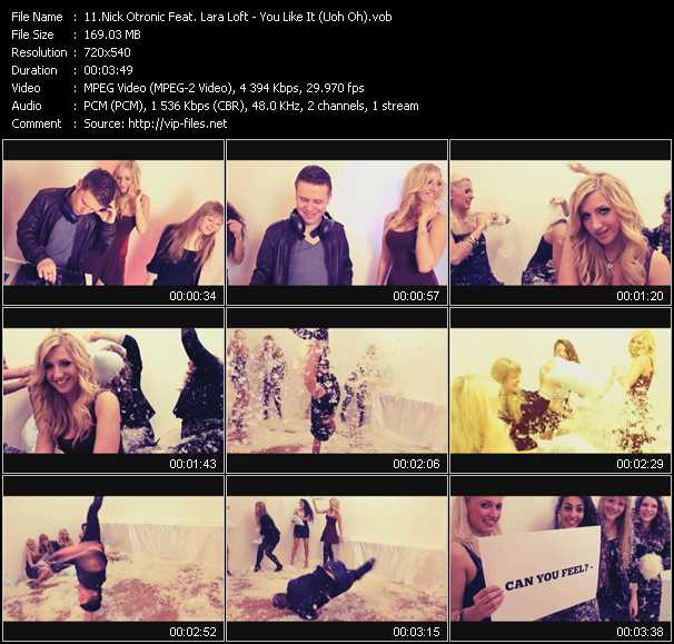 Nick Otronic Feat. Lara Loft video screenshot