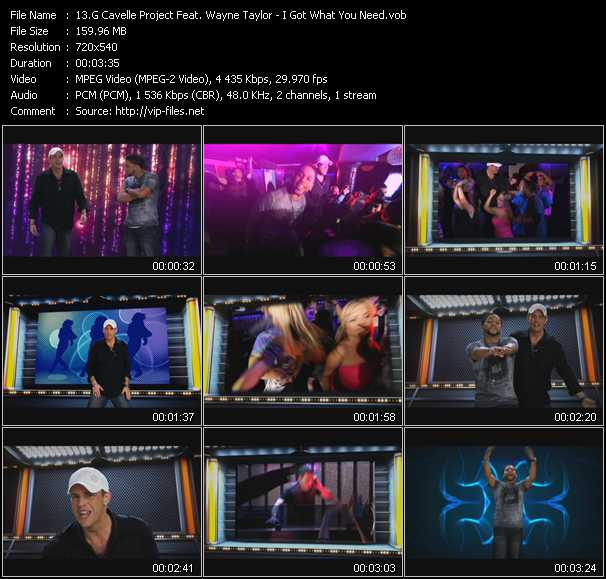 G Cavelle Project Feat. Wayne Taylor video screenshot
