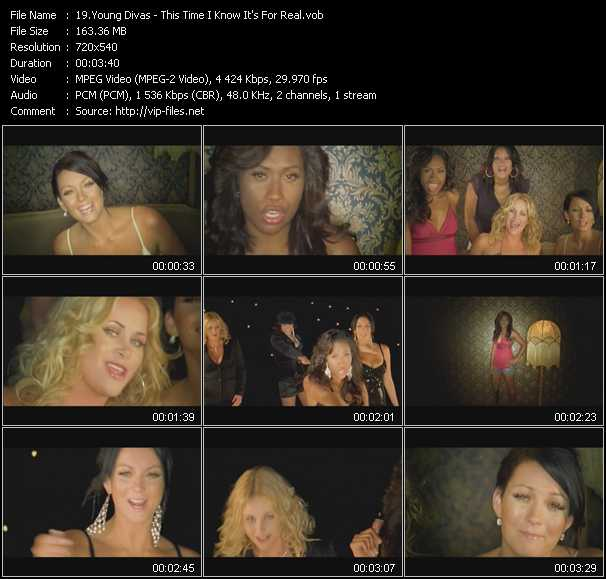 Young Divas video screenshot
