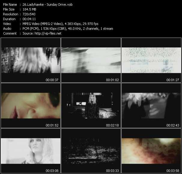 Ladyhawke video screenshot