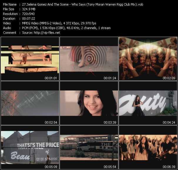 Selena Gomez And The Scene video screenshot