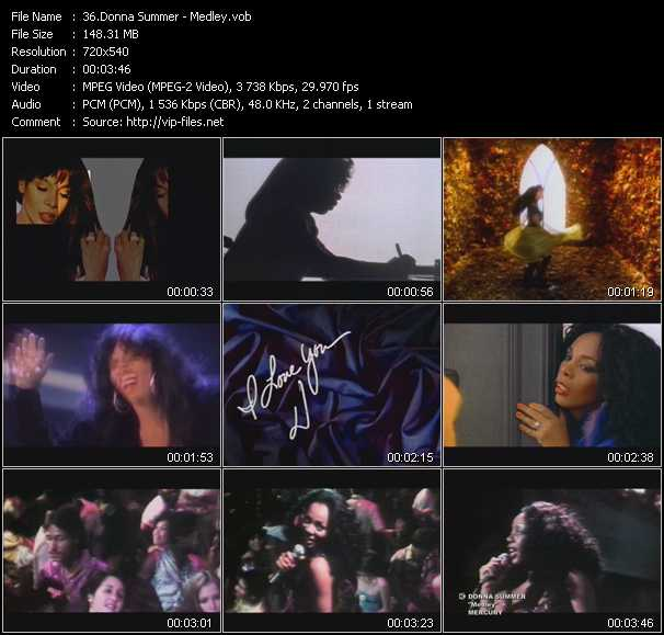 Donna Summer video screenshot