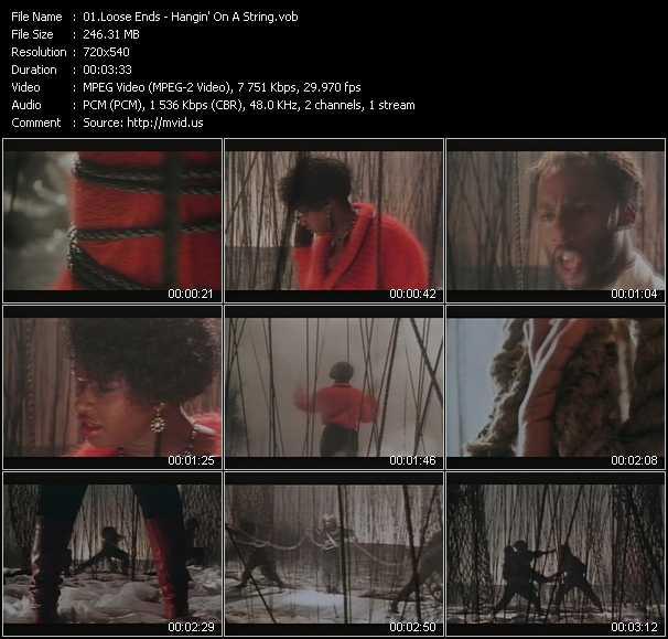 Loose Ends video screenshot