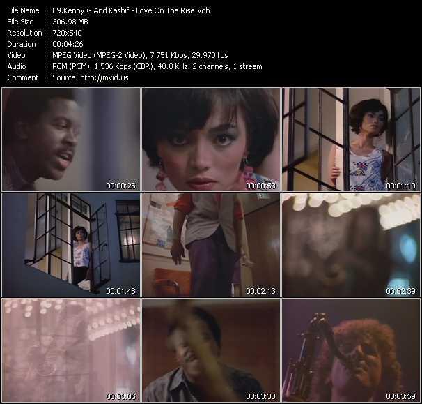 Kenny G. And Kashif video screenshot