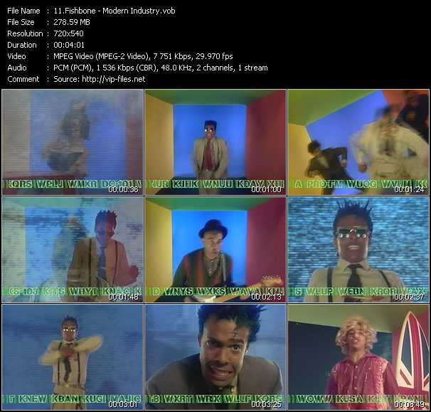 Fishbone video screenshot