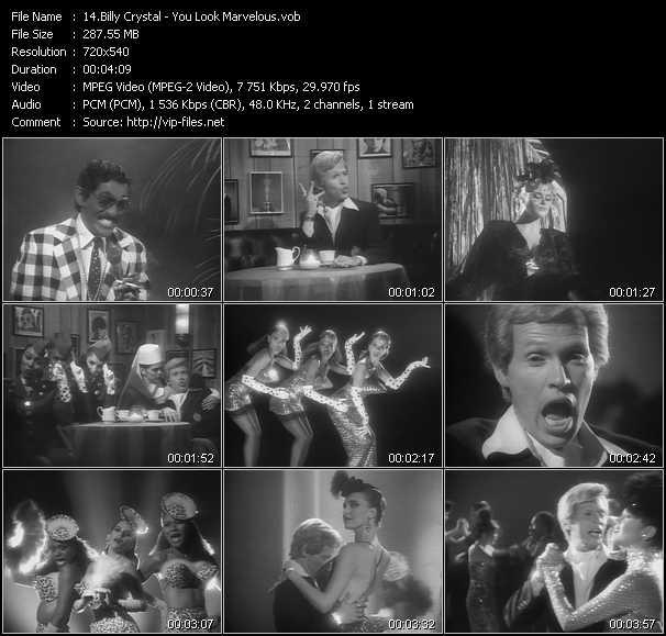 Billy Crystal video screenshot