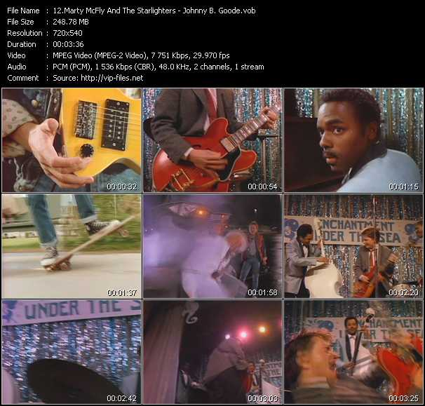 Marty McFly And The Starlighters video screenshot