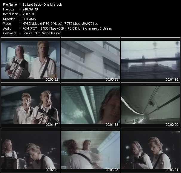 Laid Back video screenshot