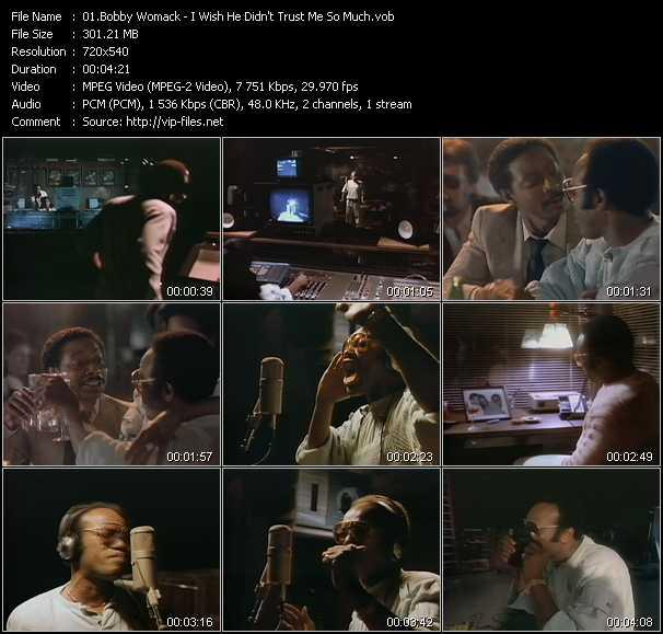 Bobby Womack video screenshot