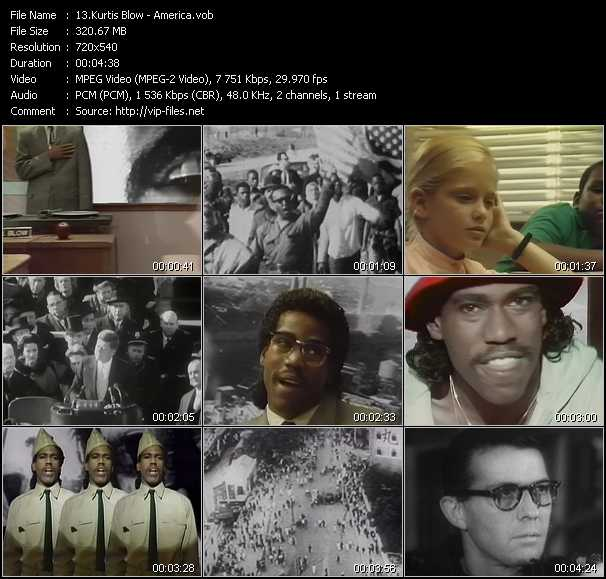 Kurtis Blow video screenshot