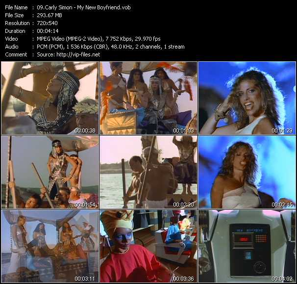 Carly Simon video screenshot