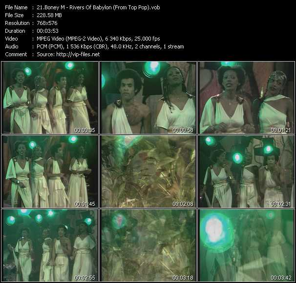 Boney M. video screenshot