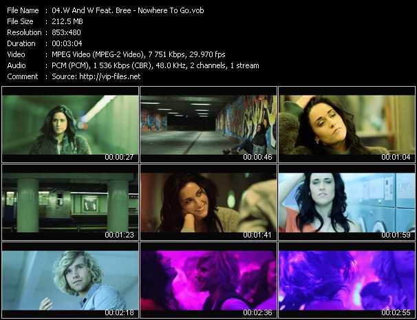 W And W Feat. Bree video screenshot