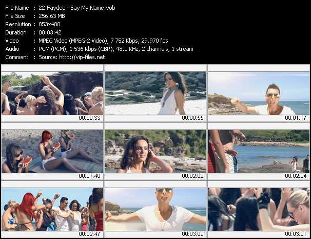 Faydee video screenshot