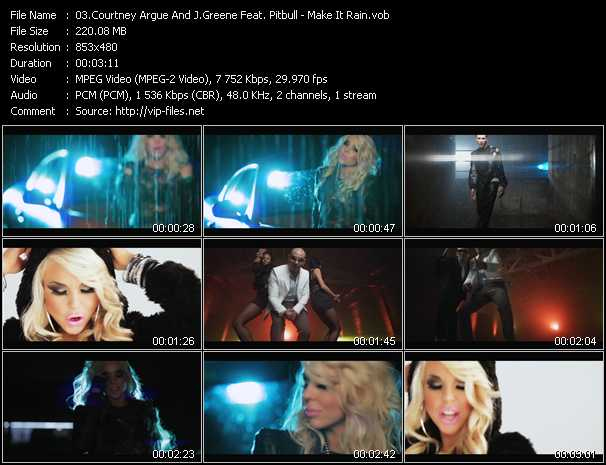 Courtney Argue Vs. Jeremy Greene Feat. Pitbull video screenshot