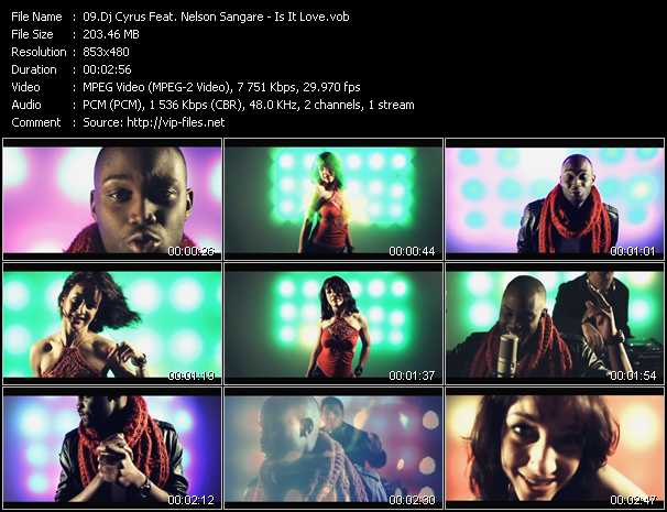 Dj Cyrus Feat. Nelson Sangare video screenshot