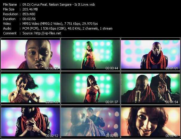 Dj Cyrus Feat. Nelson Sangare video screenshot