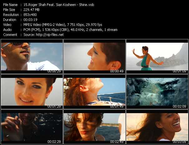 Roger Shah Feat. Sian Kosheen video screenshot