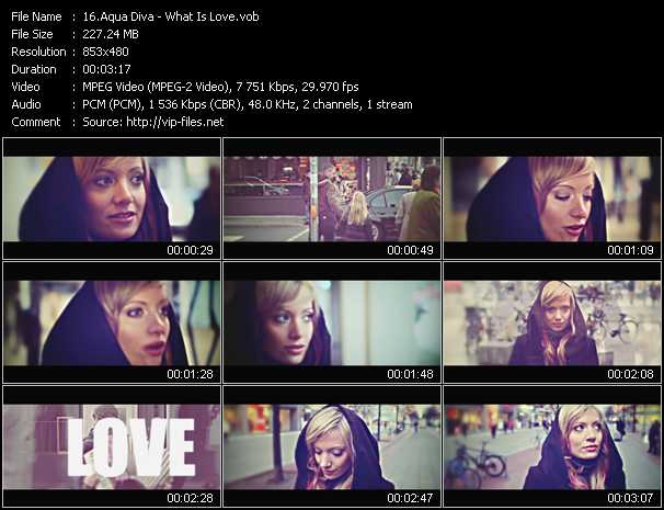 Aqua Diva video screenshot