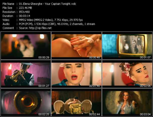 Elena Gheorghe video screenshot