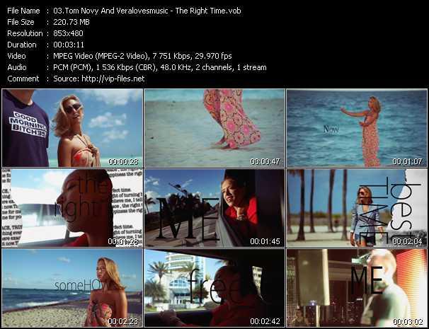 Tom Novy And Veralovesmusic video screenshot