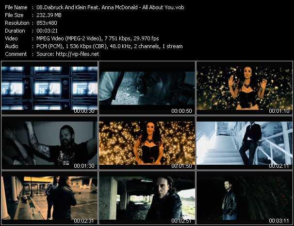 Dabruck And Klein Feat. Anna McDonald video screenshot