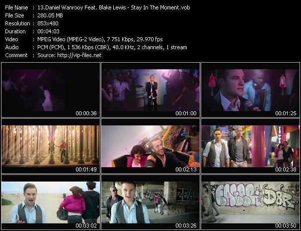 Daniel Wanrooy Feat. Blake Lewis video screenshot