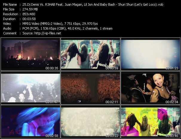 Dj Denis Vs. R3HAB Feat. Juan Magan, Lil' Jon And Baby Bash video screenshot