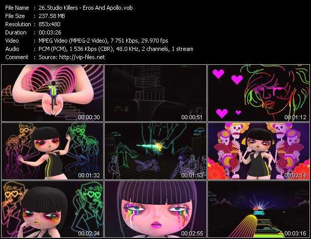 Studio Killers video screenshot