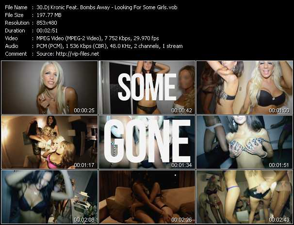 Dj Kronic Feat. Bombs Away video screenshot