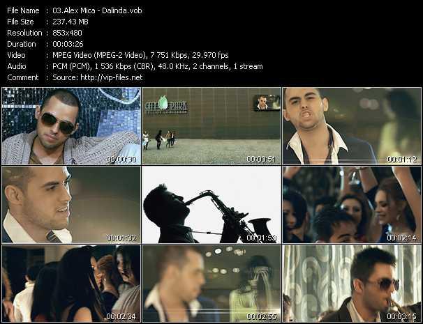 Alex Mica video screenshot