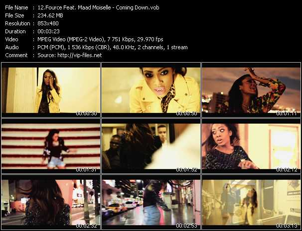 Fource Feat. Maad Moiselle video screenshot