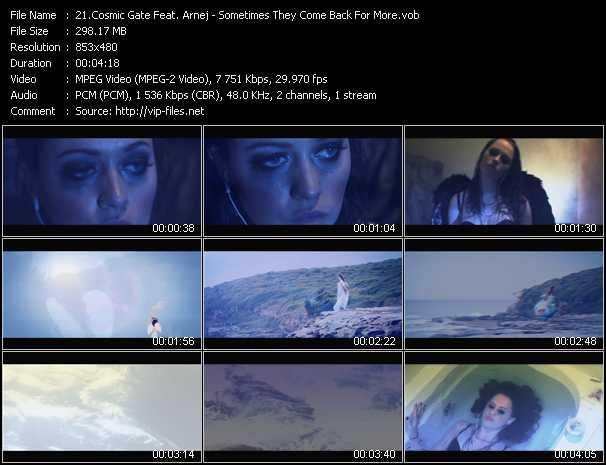 Cosmic Gate Feat. Arnej video screenshot
