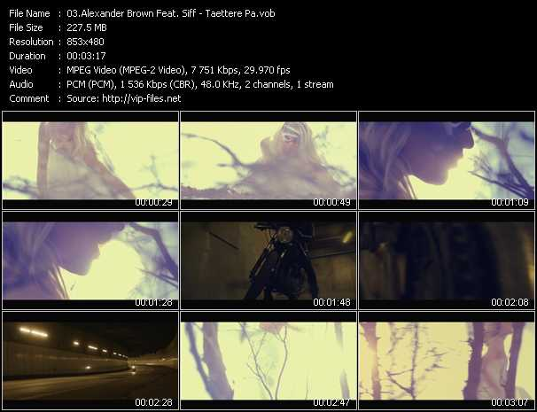 Alexander Brown Feat. Siff video screenshot