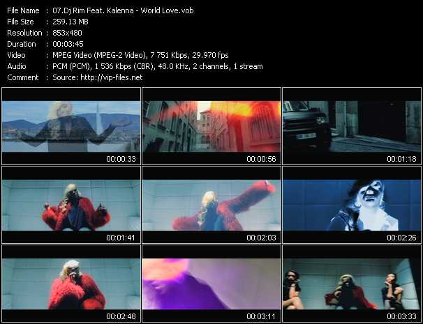 Dj Rim Feat. Kalenna video screenshot