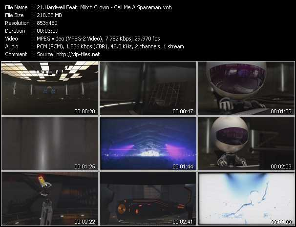 Hardwell Feat. Mitch Crown video screenshot