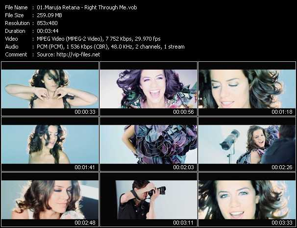 Maruja Retana video screenshot