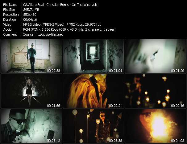 Allure Feat. Christian Burns video screenshot