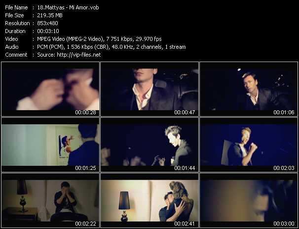 Mattyas video screenshot