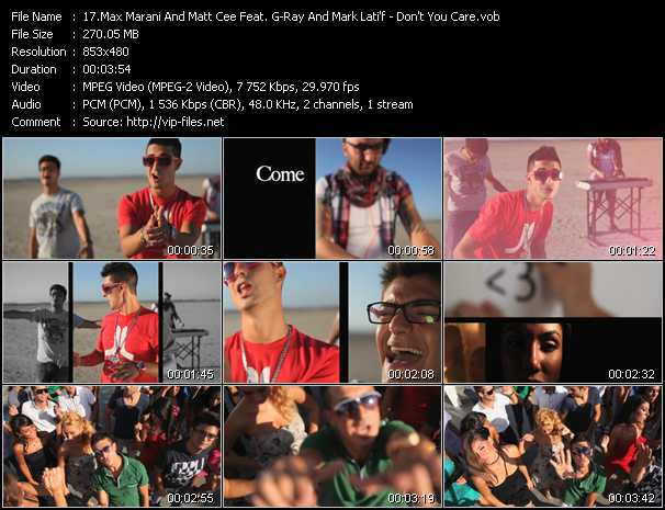 Max Marani And Matt Cee Feat. G-Ray And Mark Lati'f video screenshot