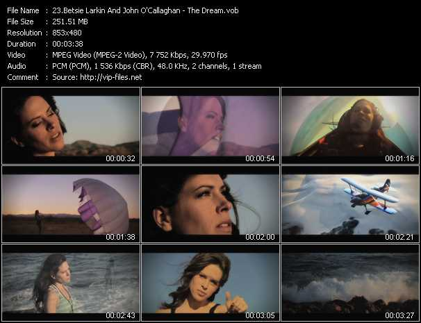 Betsie Larkin And John O'Callaghan video screenshot