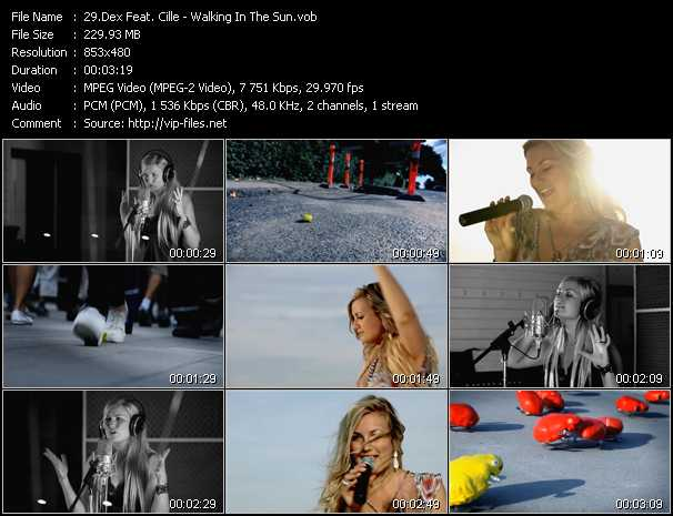 Dex Feat. Cille video screenshot