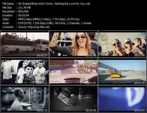 Shapeshifters (Shape: UK) And C-Dock video screenshot