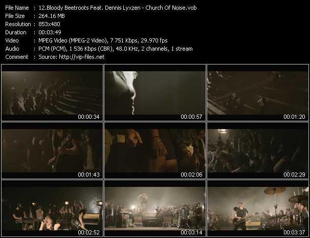 Bloody Beetroots Feat. Dennis Lyxzen video screenshot